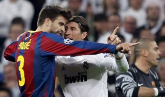 Real vs. Barca (Foto)