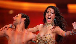 Rebecca Mir und Massimo Sinato haben in der Tanzshow Let's Dance alles gegeben. (Foto)