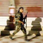 Rebellen und Militärs kämpfen um Aleppo.