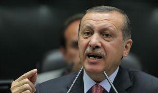 Recep Tayyip Erdogan warnt Syrien: Bei der nächsten Grenzverletzung werde die Türkei sich wehren. (Foto)