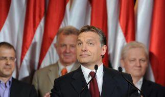 Rechte gewinnt Wende-Wahl in Ungarn (Foto)