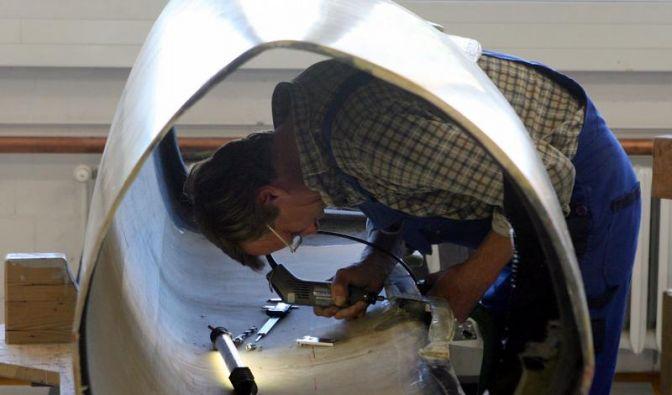 Regeländerung beim Bobbau: FES-Tüftler bleiben cool (Foto)