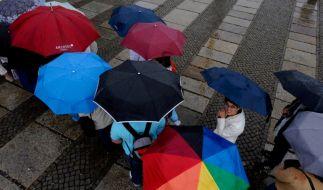 Regenschirme (Foto)