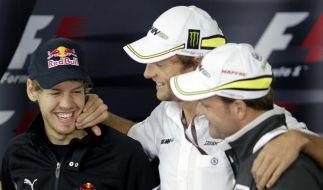 Regentanz statt Samba: Vettel lacht in São Paulo (Foto)