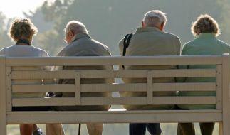 Regierung: Überwiegende Zahl der Rentner «gut versorgt» (Foto)