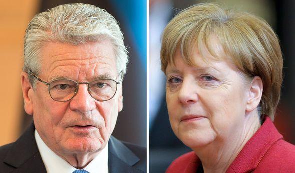 Reichsbürger haben Joachim Gauck und Angela Merkel ins UCC-Schuldenregister eintragen lassen. (Foto)