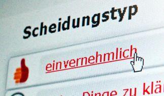 Reine Online-Scheidungen gibt es nicht (Foto)