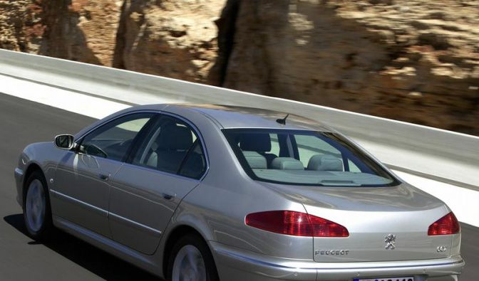 Reisen ohne Zwischenfälle: Der Peugeot 607 (Foto)