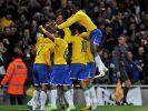 Rekord-Weltmeister Brasilien schlägt Italien 2:0 (Foto)