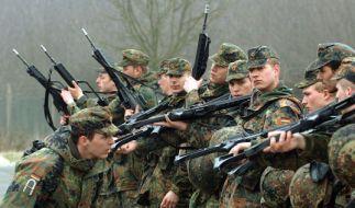 Rekruten der Bundeswehr (Foto)