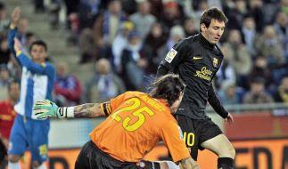 Remis im Lokalderby: Barca 1:1 bei Espanyol (Foto)