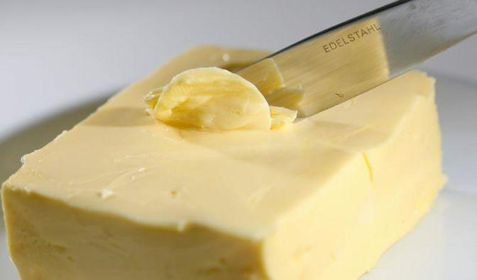 Renner in Iowa: Frittierte Butter am Stiel (Foto)