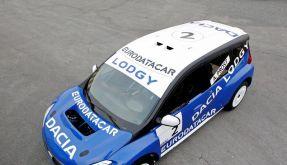 Rennwagen «Lodgy Glace» fährt neuem Dacia-Van voraus (Foto)