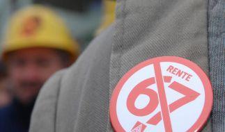 Rente mit 67: Startschuss fällt am 1. Januar (Foto)