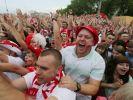 Reportage aus Breslau: Russland im Tor-, Polen im Feierrausch. (Foto)