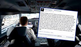 Respekt und Lob für einen Germanwings-Piloten. (Foto)