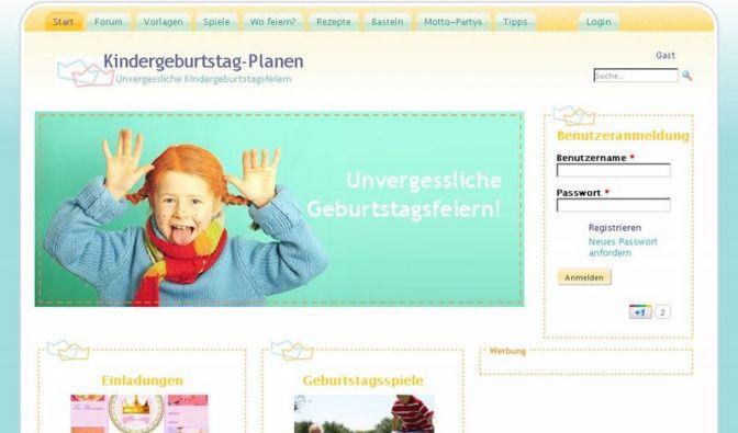 Rezepte und Spielideen für Kindergeburtstage (Foto)