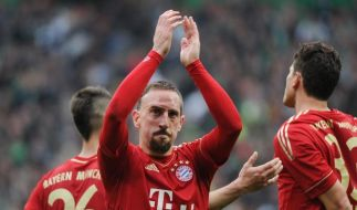 Ribéry rettet Bayern-Sieg in Bremen (Foto)
