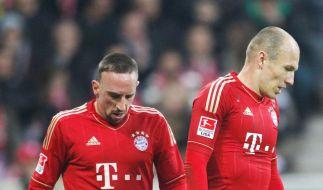 Ribéry vs. Robben: Kabinen-Krach beim FC Bayern  (Foto)