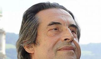 Riccardo Muti wird nach Sturz vom Pult operiert (Foto)