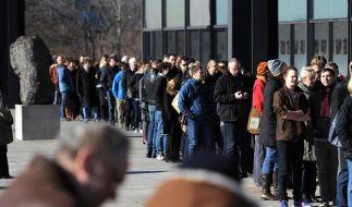 Richter-Ausstellung rechnet mit mehr als 380 000 Besuchern (Foto)
