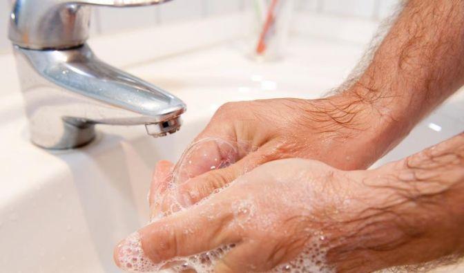 Richtiges Händewaschen schützt vor Krankheiten (Foto)