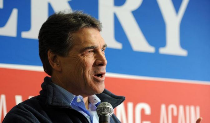 Rick Perry beendet US-Präsidentschaftswahlkampf (Foto)