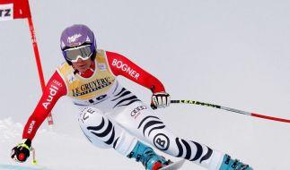 Riesch gewinnt Weltcup-Abfahrt - Vonn geschlagen (Foto)