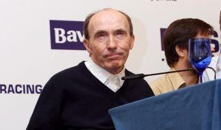 Ritter im Rollstuhl: Sir Frank Williams wird 70 (Foto)