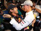 Ritterschlag vom Rekordchampion: Hut ab vor Vettel (Foto)