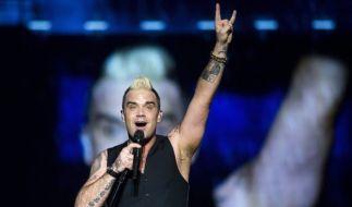 Robbie Williams hat für 2017 eine große Tournee angekündigt - fünf Konzerte in Deutschland inklusive. (Foto)
