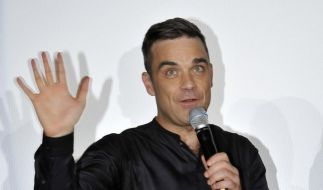 Robbie Williams ist frisch gebackener Papa. (Foto)