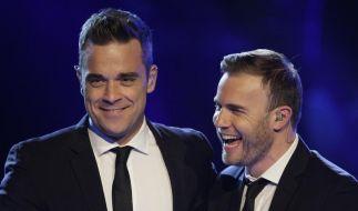 Robbie Williams und Gary Barlow auf Diät (Foto)
