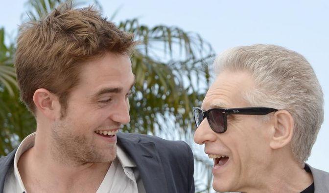 Robert Pattinson stellt in Cannes «Cosmopolis» vor (Foto)