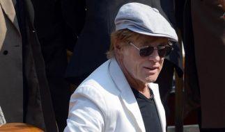 Robert Redford stellt neuen Film in Venedig vor (Foto)