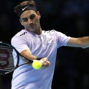 Federer bezwingt Cilic bei Londoner Tennis-WM (Foto)