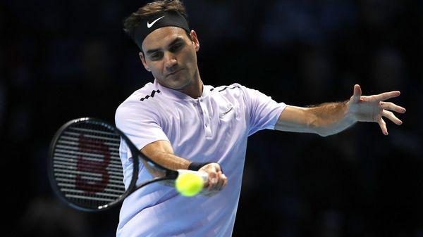 Roger Federer will heute in London wieder angreifen.