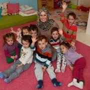 Roksana Temiz ist 29 Jahre alt und stolze Mutter von acht Kindern. Da ist Organisationstalent gefragt.