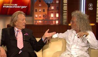 Rolf Eden (li.) und Rainer Langhans (Foto)