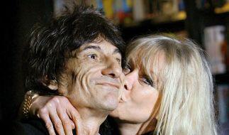 Rolling-Stones-Gitarrist Ron Wood ist der personifizierte «Sex, Drugs & Rock 'n' Roll»-Lebensstil. Heute wird er 65 Jahre alt. (Foto)