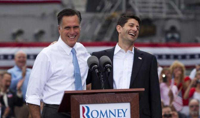Romney fordert Obama mit radikalem Sparer als Vize heraus (Foto)