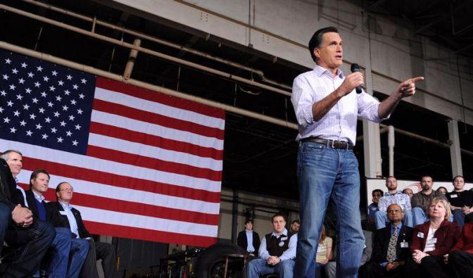 Romney gewinnt Vorwahl im US-Staat Washington (Foto)