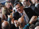 Romney gewinnt Vorwahl in Nevada (Foto)