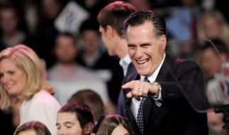 Romney triumphiert auch bei zweiter US-Vorwahl (Foto)