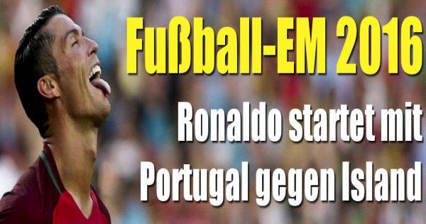 ergebnis portugal gegen island