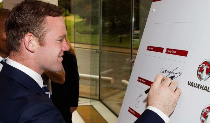 Rooney trotzt Kritikern: «Warum nicht Europameister?» (Foto)
