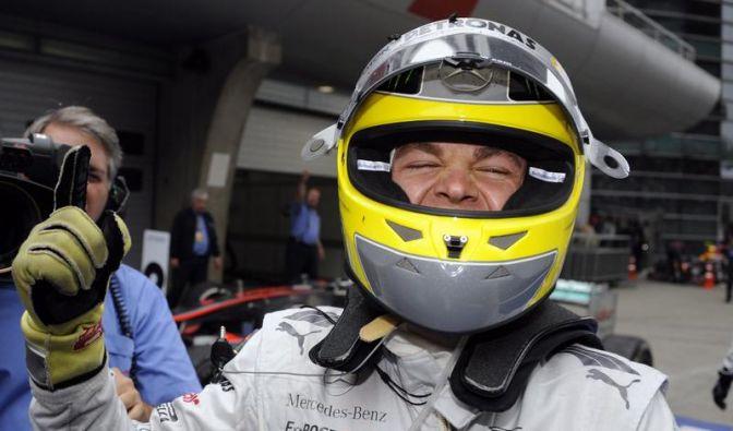 Rosberg siebter deutscher Formel-1-Sieger (Foto)