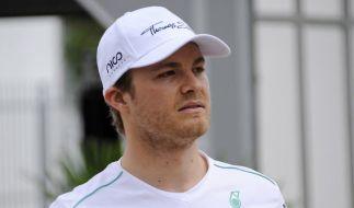 Rosberg vor Vettel im Abschlusstraining (Foto)