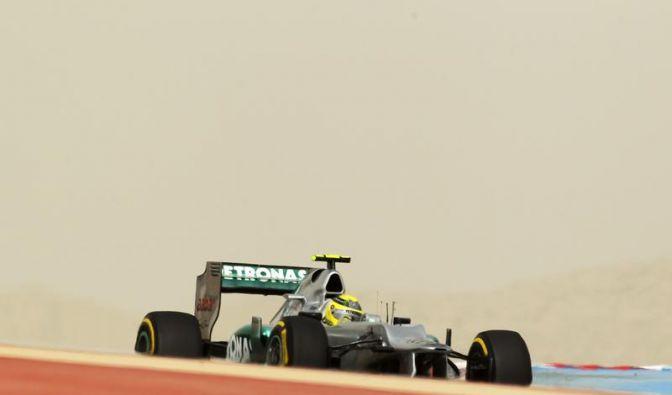 Rosberg vor Vettel im Formel-1-Abschlusstraining (Foto)