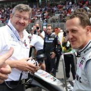 Ross Brawn war technischer Direktor bei Benetton und Ferrari und somit an fast allen Erfolgen von Michael Schumacher beteiligt.